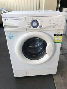 LG 7kg front load washing machine (free delivery)