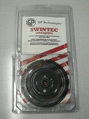 Gp 11013 Ocr-a 10-pitch Electronic Typewriter Printwheel Fits Swintecnakajima