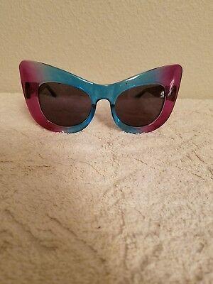 UNIF THE SOSH PURPLE AND BLUE SASSY (Sassy Sunglasses)
