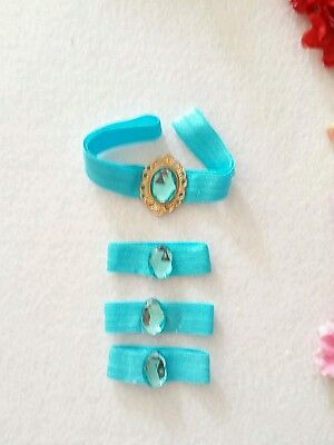 PRINCESS JASMINE HEADBAND AND SET OF 3 HAIR BANDS  for sale  Shipping to India
