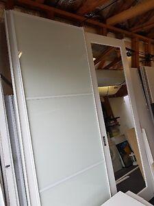 Wardrobe Sliding Doors 2 sets Narraweena Manly Area Preview