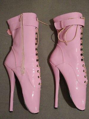 Ballet High Heels Boots 43 pink