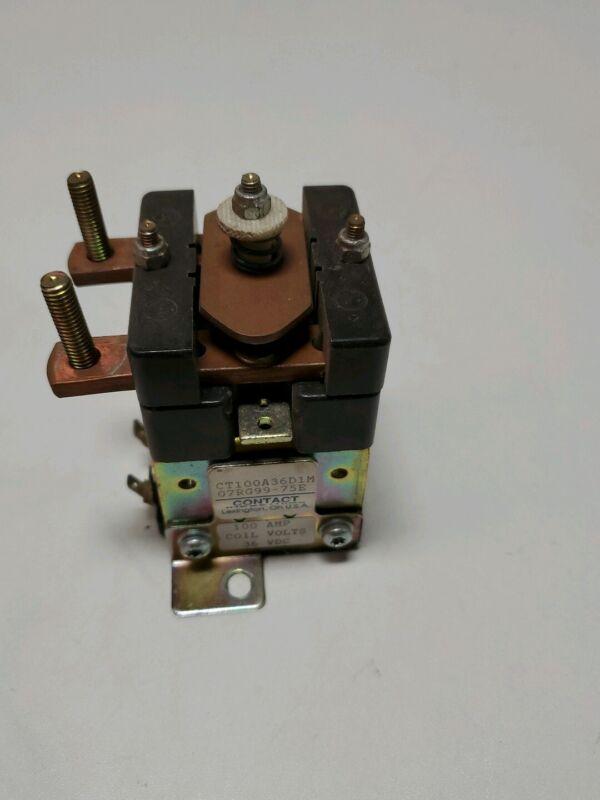 Contact Industries CT100A36D1M 100AMP 36 VDC Contactor