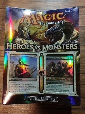 1x Heroes VS. Monsters: Duel Deck New Sealed Product - Magic: The Gathering
