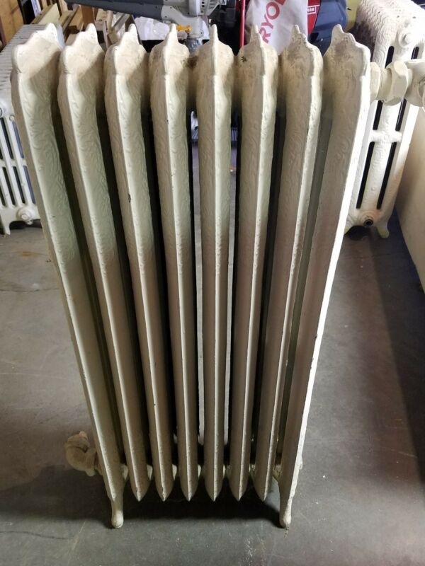 Antique Ornate cast iron radiator