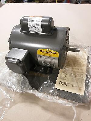 New Baldor 1 Ph Motor L1206 - 13hp Rpm 1725 115230