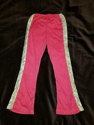 Girls Disco Pants (HALLOWEEN Rubie's Dress-up Polyester Child's Disco Jazz Pants Pink)