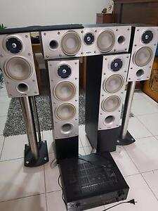 Surround Sound Theatre - Energy 5.1 Yamaha Sub Bass Connoisseur Nollamara Stirling Area Preview