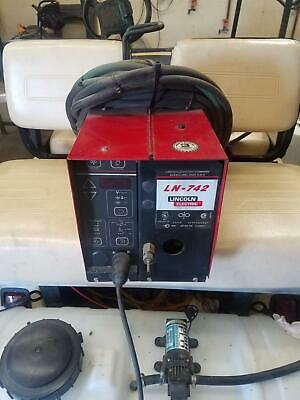 Lincoln Electric Ln-742 Wire Feeder   Oth130