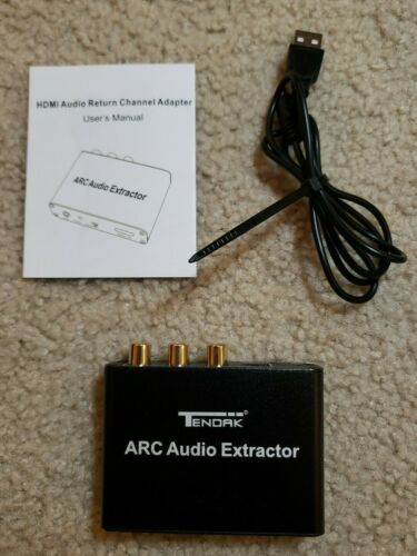 ARC HDMI Coaxial 3.5mm Stereo Audio Extractor Converter Adapter - $16.99
