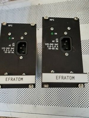 2 Efratom Power Supplies For Gps Time Std Motorola Simulcast System