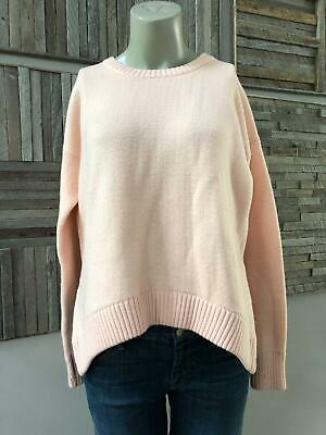 Lululemon Yogi Crew Sweater *Hearts Parfait Pink / White Size 6
