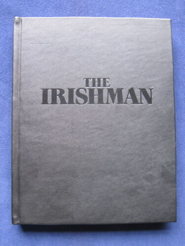 SPECIAL SCRIPT for THE IRISHMAN - SIGNED by MARTIN SCORSESE & STEVEN ZAILLIAN