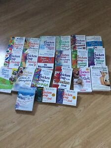 Chicken soup for the soul books lot