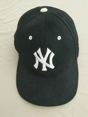6453591e1 New York Yankees Cap Black / White - Adjustable