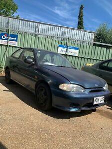 1997 Hyundai Excel X3 LX Blue 5 Speed Manual Sedan Morphett Vale Morphett Vale Area Preview