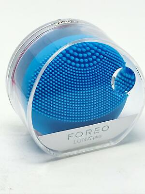 FOREO Luna Play Mini T-Sonic Facial Cleansing Device - Aquamarine NEW SEALED