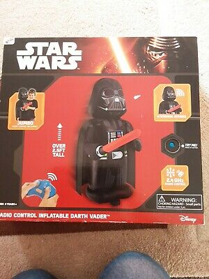 Official Starwars Radio Control Inflatable Darth Vader