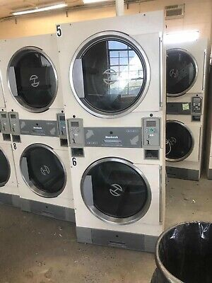 Huebsch Jt0300 Stack Dryer Coin 120v Gas Sell As Is All Sale Are Final