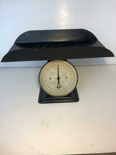 Vintage 1947 Chatillon Baby Scale  30 LB Table Scale