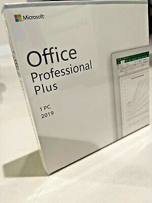 Microsoft Office 2019 Professional Plus Retail Version for Windows 10 1PC