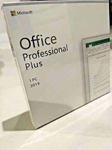 Microsoft Office 2019 Professional Plus Retail Version(DVD) for Windows 10 1PC