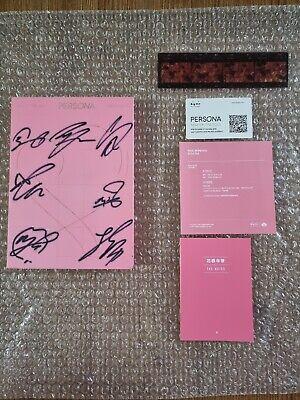 BTS BANGTAN BOYS Persona Album Autographed Hand Signed