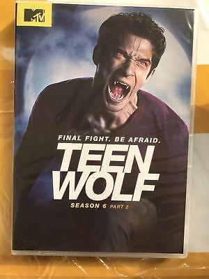 Teen Wolf  Season 6   Part 2  Dvd  2017  3 Disc Set