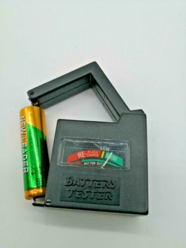 Battery Tester Checker-Universal-AA-AAA-C-D-9V-1-5V-Button-Cell-Batteries US