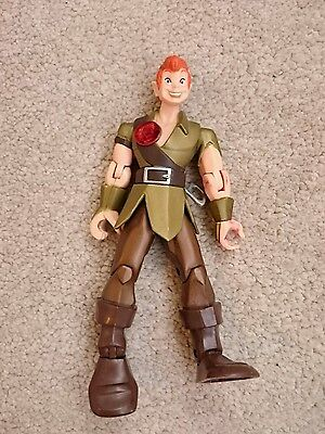 Disney Store Peter Pan 6'' Figure Working Light Up Chest Rare Chunky Figure  for sale  Shipping to South Africa