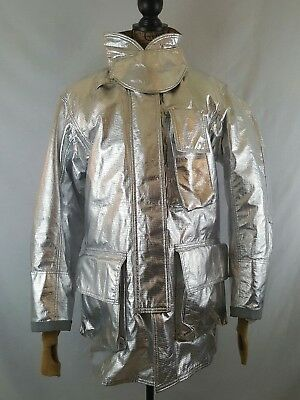 Globe Firefighter Aluminized Proximity Jacket 42x35 Turn Out Gear Gxtreme