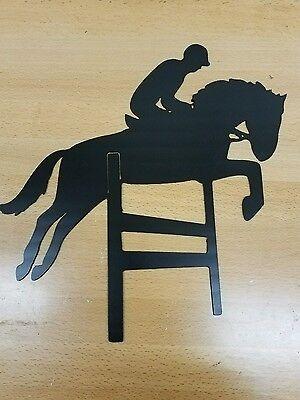 Horse Hurdle metal art plasma cut decor rodeo cowboy gift idea