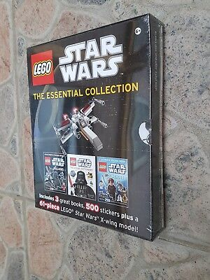 Lego Star Wars X Wing Polybag & Stickerbuch & Mini Visual Dictionary Fehlprodukt