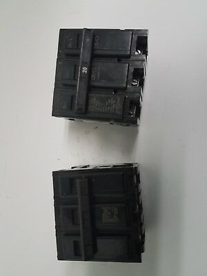 Eaton Cutler Hammer Br320 Br Type Plug In 3 Pole 20a Circuit Breaker 240v