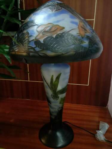 BIG Emile Galle dragonfly lamp