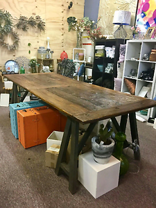 Timber dining table Burnie Burnie Area Preview