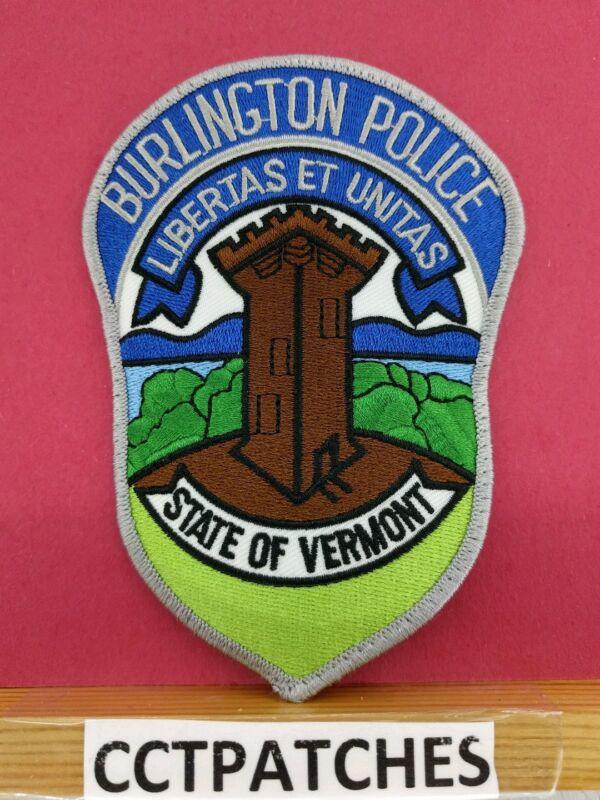 BURLINGTON, VERMONT POLICE SHOULDER PATCH VT
