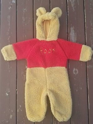 Disney Store Winnie The Pooh Costume- SIZE 12-24 months old. Halloween,  -