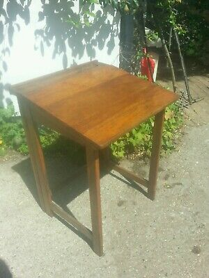 Unusual Antique Folding Wooden School Desk-Educational Supply Association Co Ltd