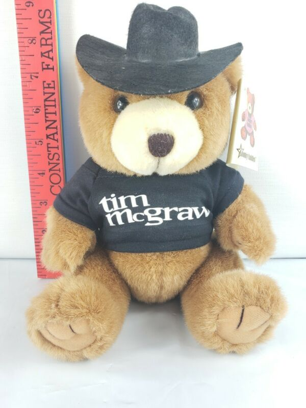 Tim McGraw Country Cuddles Plush Teddy Bear Limited Edition 1st Series 1998