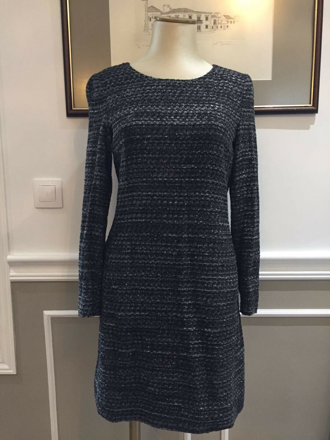 Robe chanel toute neuve t40 / brand new and authentic chanel dress