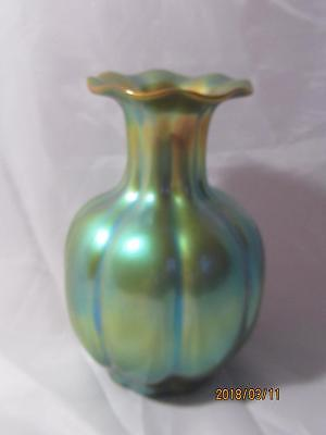Zsolnay Eosin Segmented Vase for sale  Shipping to South Africa