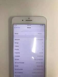 Iphone  7 Plus  Silver  128G Unlock