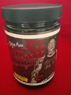 Rich Piana 5150 Pre Workout, WILD BERRY 30 Servings, Exp 03/19. FACTORY  (19 Wild Berry)
