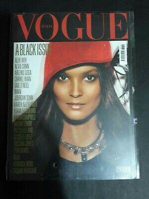 VOGUE ITALIA Magazine ,July 2008 LIYA KEBEDE COVER