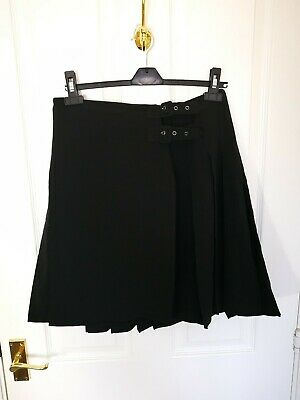 Jonathan Saunders Womens Ladies Midi Skirt Size 10 Black Formal AR
