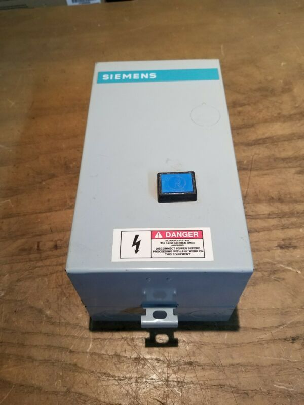 Siemens SXL1B4417A85400 Encloser with S3TBAA17-0A Contactor  1J-1856-F22