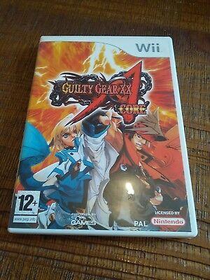 Guilty Gear Core jeux vidéo Nintendo WII TBE