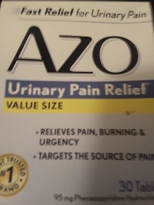AZO Standard Urinary Pain Relief Tablets 30 -
