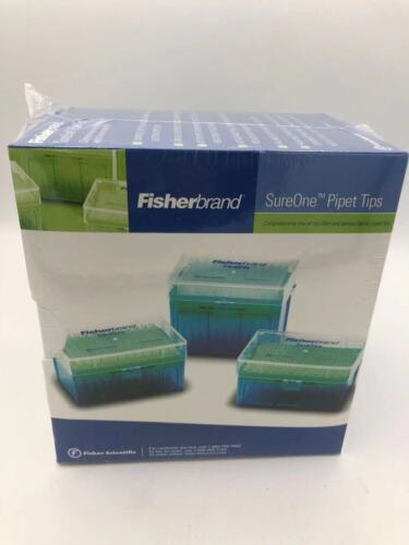 Fisherbrand SureOne 02-707-411 Beveled Pipet Tips, 5-300 uL, Package of 960